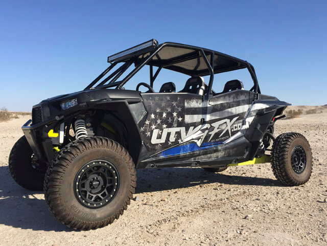 Custom UTV Graphic Wraps by Awthentik®